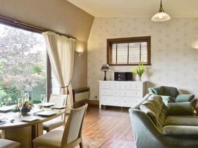 Living room/dining room   Sgurr Mor Lodge, Balmacara, By Kyle of Lochalsh, nr. Plockton
