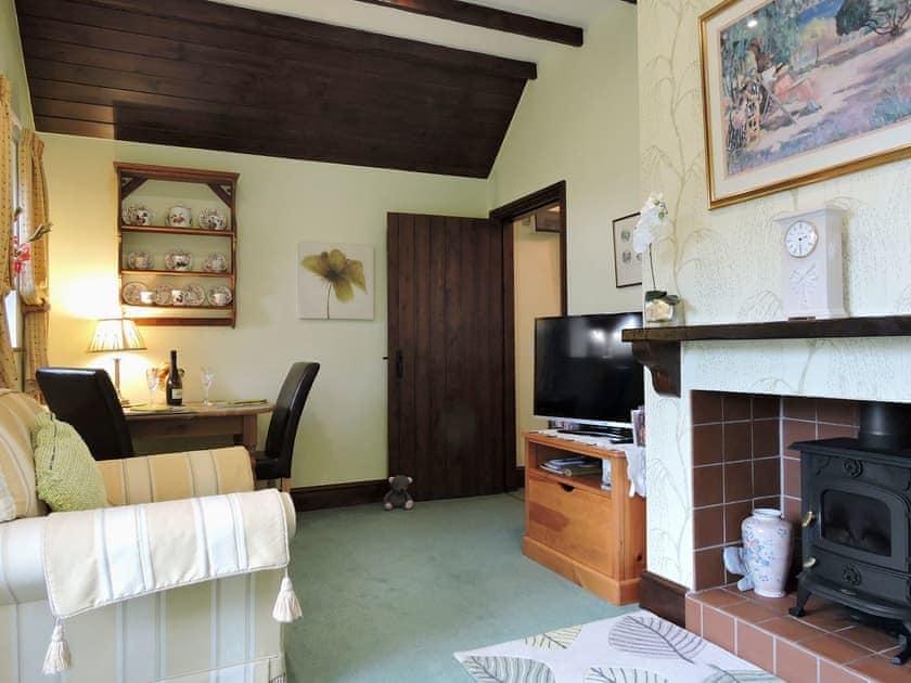 Elegantly decorated living room/dining room | Moorlands Cottage, Levisham