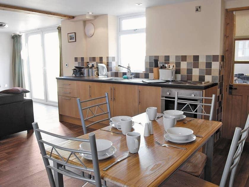 Open plan living/dining room/kitchen | Millstone Cottage, Thornton Watlass near Masham
