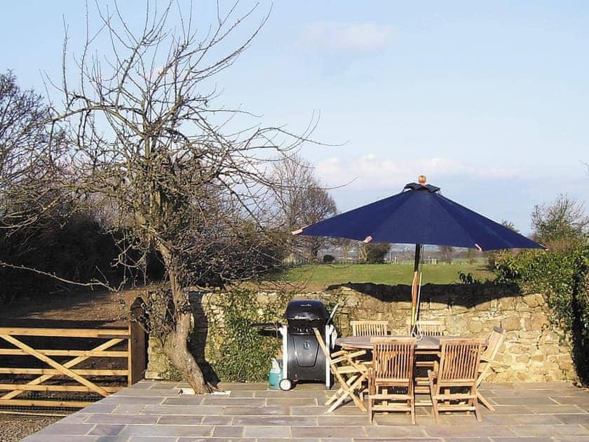 Outdoor eating area | Millstone Cottage, Thornton Watlass near Masham