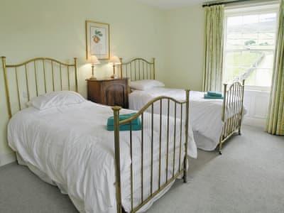 Twin bedroom | Forresters Lodge, Little Fryup near Danby