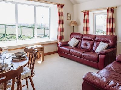 Living room/dining room | High Kirkland Holiday Cottages: The Byre, Kirkcudbright