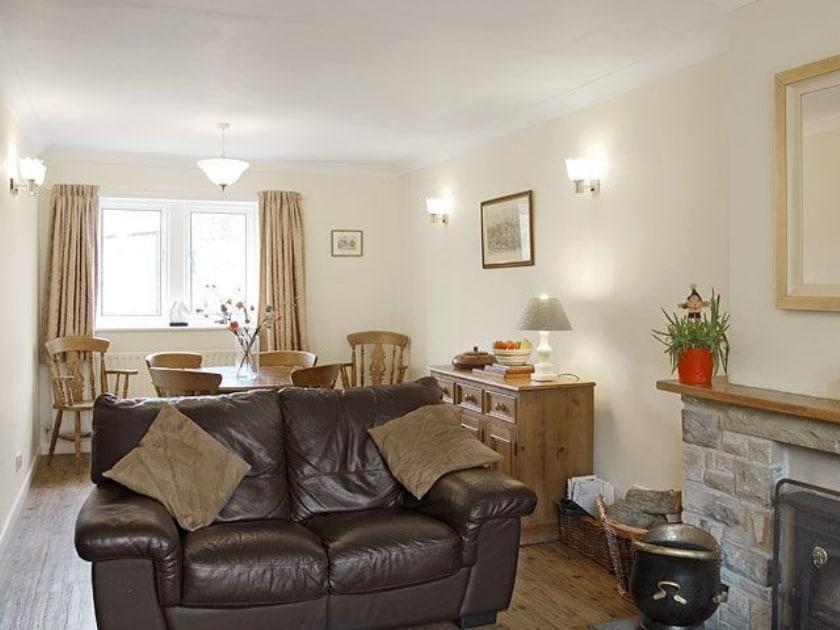 Living room/dining room   Amerdale Cottage, Kettlewell