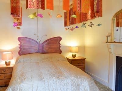 Pretty themed bedroom | Gwesty Pili Pala (Butterfly Hotel) - Pentre Bach, Blaenpennal, Aberystwyth