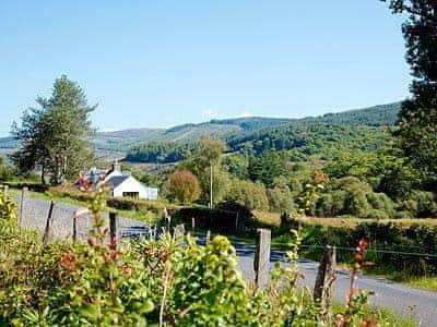 View | Strathlachlan Lodge, Loch Fyne, nr. Strachur