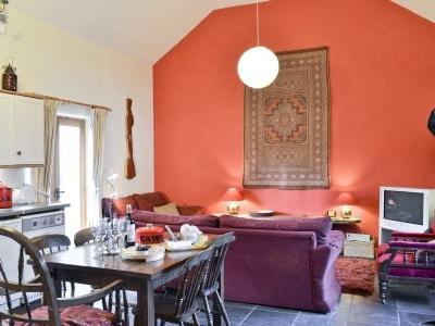 Open plan living/dining room/kitchen | Pentre Bach - Siop Shoni Bric-a-moni, Blaenpennal, Aberystwyth