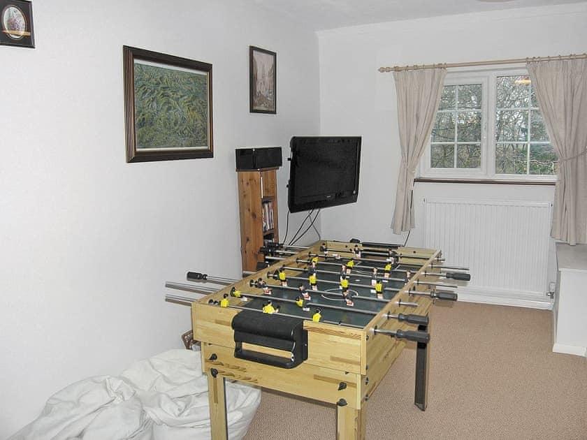 Games room | Swallowdale, Simonstone near Hawes