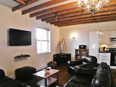 Living room | Parc Y Bryn Lodge, Ferryside