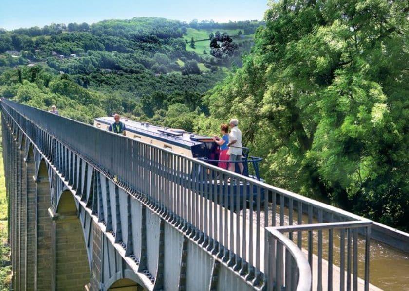 The Poncysyllte Aqueduct