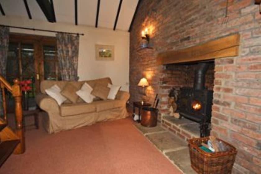 The Secret Cottage sitting/dining room | The Secret Cottage, Cromford, nr. Matlock
