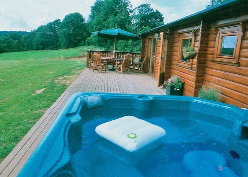 Cider Mill Lodge hot tub | Cider Mill Lodge, Brockweir