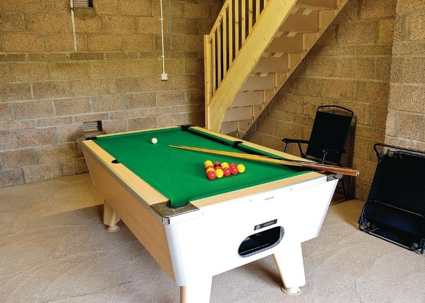 Shared games room | Sea Breeze, Greystonelees, nr. Eyemouth