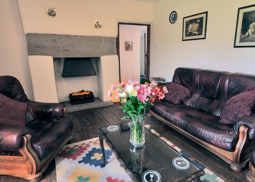 Inglenook Cottage sitting room | Inglenook Cottage, Ty'n Y Morfa, nr. Prestatyn