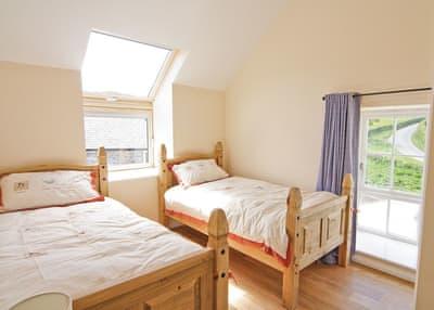 Smithy Barn twin bedded room | Smithy Barn, Betws-Yn-Rhos, Conwy
