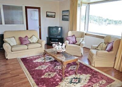 Rockcliffe sitting room   Rockcliffe, Tarbert, Loch Fyne