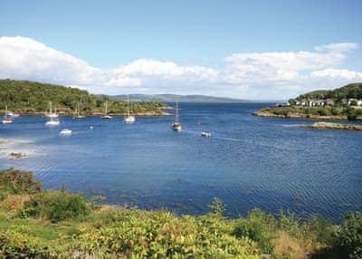 View from Rockcliffe | Rockcliffe, Tarbert, Loch Fyne