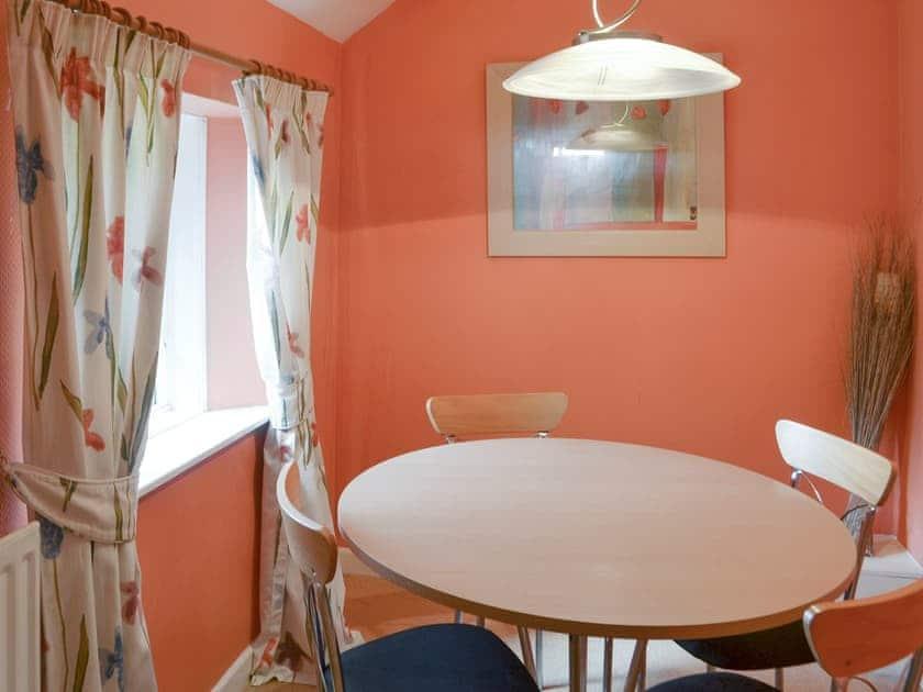 Useful dining area | Oak Cottage - Whitelee Farm, Bryness, near Otterburn