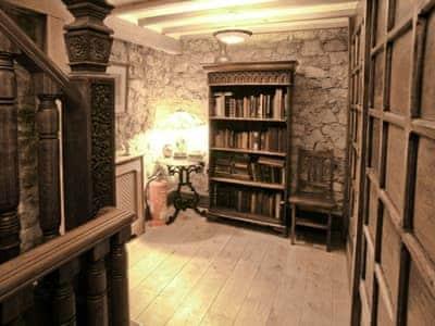 Mahogany style hallway | Hen Wrych Hall Tower, Abergele, Conwy