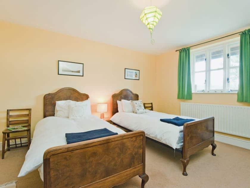 Twin bedroom | The Pitchford Estate - Windy Mundy Farm, Pitchford, nr. Shrewsbury