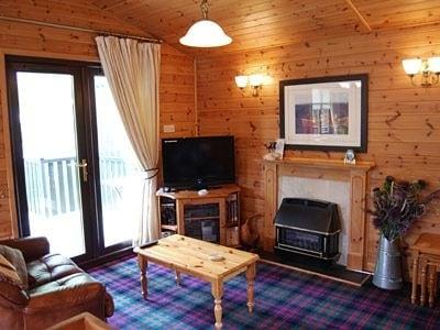Open plan living/dining room/kitchen | Loganberry Lodge, Rowardennan