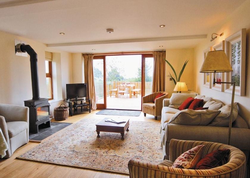 Living room   Mellow Farm Lodge, Redmarley D'Abitot