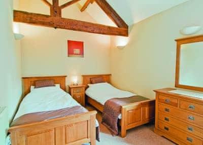 Twin bedroom   Amberleigh, Sutton-under-Whitestonecliff, nr. Thirsk