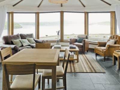 Living room/dining room | Beach Bay Cottage, Carnish, Uig, Isle of Lewis