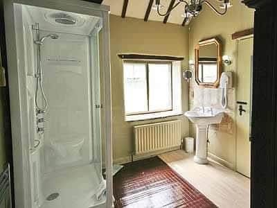Bathroom | The Stables at Riber Hall, Riber, Matlock
