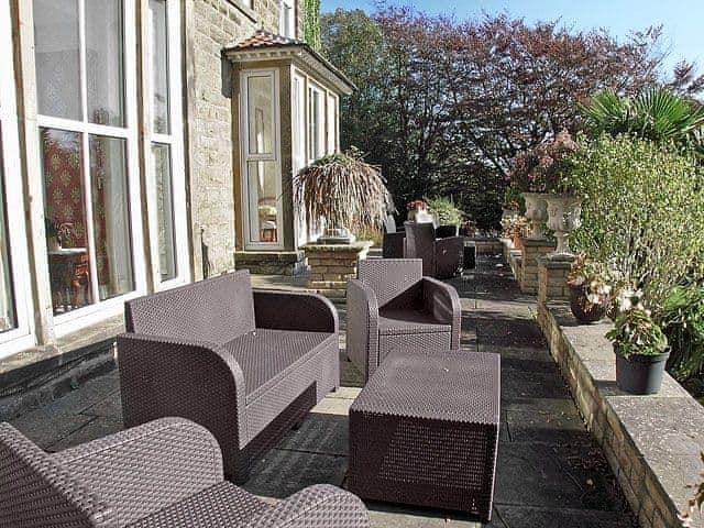 Sitting-out-area | Moorlands Cottage, Levisham