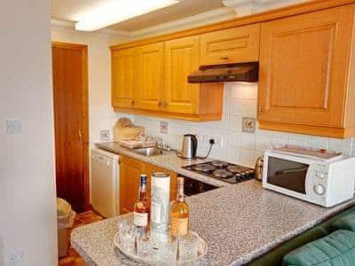 Kitchen | Esplanade Court - Apartment, Oban, Argyll