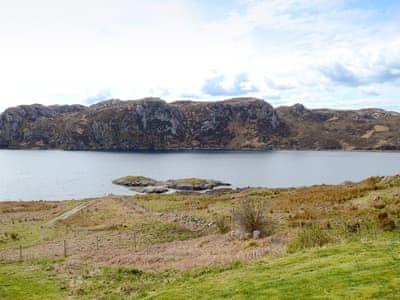 View | Lochinchard Cottage, Kinlochbervie, Sutherland