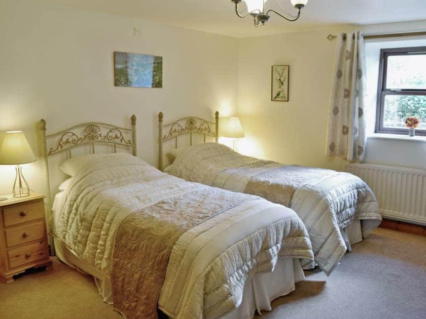 Twin bedroom | Fossdale House, Simonstone near Hawes