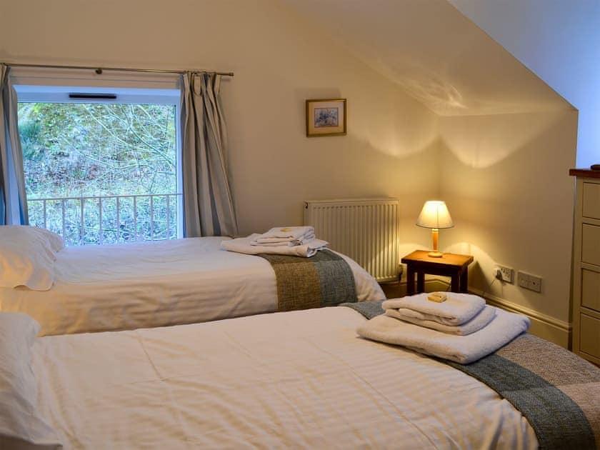 Double bedroom   Oak Cottage, Crawfordjohn, nr. Biggar