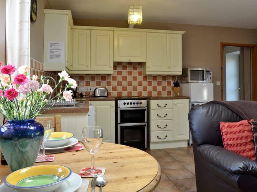 Open plan living/dining room/kitchen   The Cottage, Glynarthen, nr. Cardigan