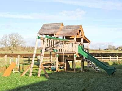 Children's play area | Bwthyn Celyn, Ystrad Meurig