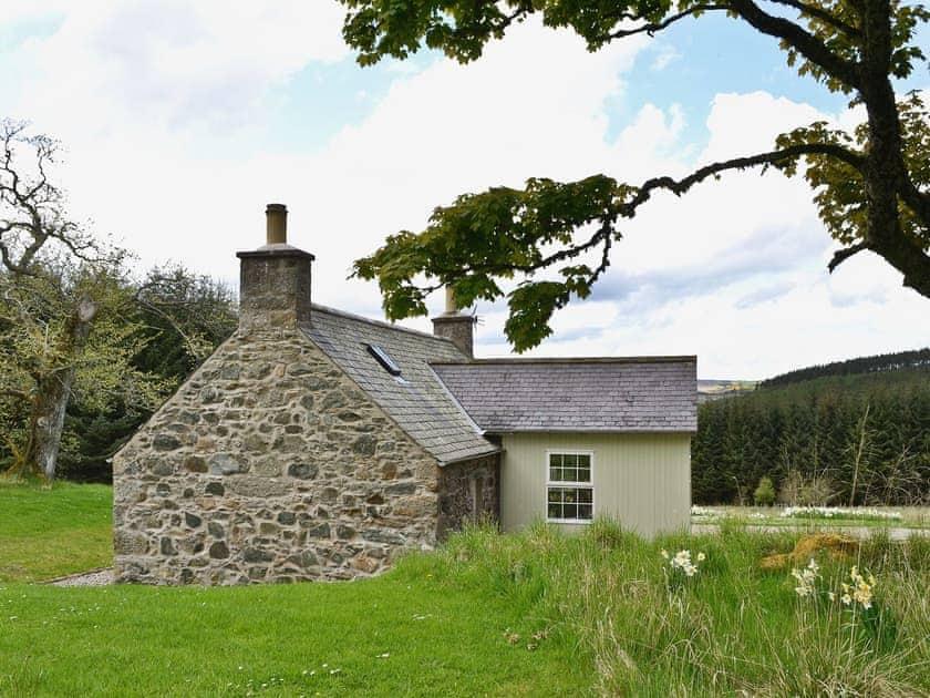 Exterior | Jocky Milne's Croft, Glen Deveron, by Huntly