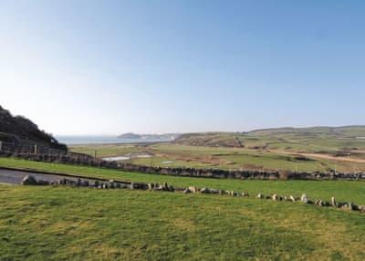 View | Penrhyn Farm House, Morfa Bychan