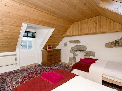 Ideal twin bedroom | Old Lighthouse Keeper, Milovaig, Isle of Skye