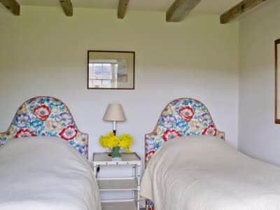 Twin bedroom   Warren Farmhouse, Kildale, nr. Whitby