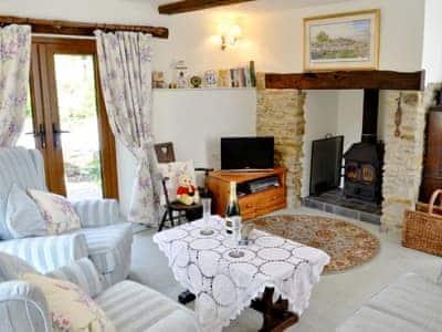 Living room | Peartree Cottage, Northlew, nr. Okehampton