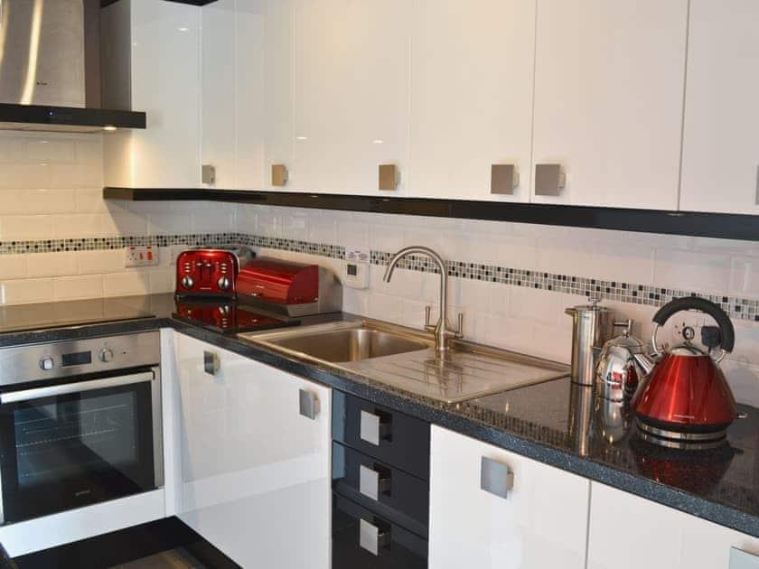 The modern kitchen is well equipped | Bwlch Y Person Barns -Cartws - Bwlch Y Person Barns, Dihewyd, near Aberaeron