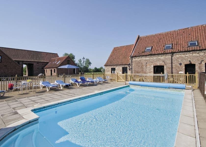 Swimming pool   Rafters Barn, Runcton Holme