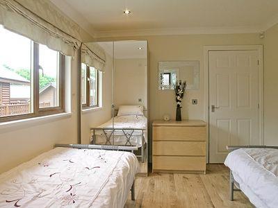 Twin bedroom | Links Lodge, Sewerby, nr. Bridlington