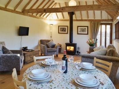 Open plan living/dining room/kitchen | Cider Cottage, Etchingham