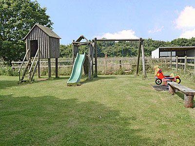 Children's play area   Cottage in the Pond, Garton, nr. Hornsea