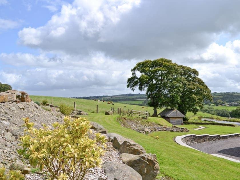 View | Ffynnonmeredydd Cottages - The Mill, Mydroilyn, nr. Aberaeron