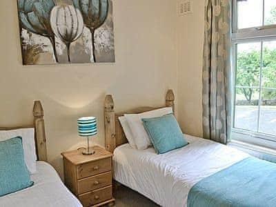 Twin bedroom   Flat 6, Meathop, nr. Grange-over-Sands
