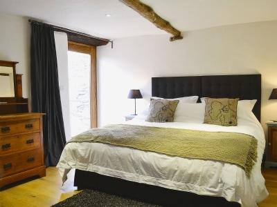 Double bedroom | The Threshing Barn, Patchole, Kentisbury, Barnstaple