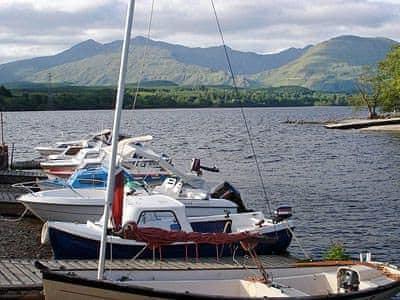 Loch awe boats | Ardbrecknish House - Old West Wing, South Lochaweside