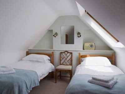 Twin bedroom | Plas Hyfryd, Solva, nr. Haverfordwest
